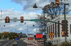 巧克力大道在赫尔希宾夕法尼亚 库存图片