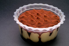 巧克力奶油色香草 免版税库存图片