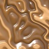 巧克力奶油 免版税库存照片