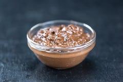 巧克力奶油 图库摄影
