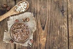 巧克力奶油 库存图片