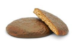 巧克力姜饼 免版税库存照片