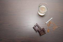 巧克力威士忌酒 免版税库存图片