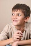 巧克力孩子 库存图片