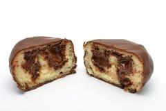 巧克力小圆面包 免版税库存图片