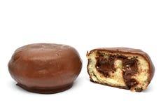 巧克力小圆面包 库存照片