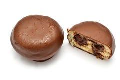 巧克力小圆面包 库存图片