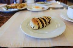 巧克力小圆面包 免版税图库摄影