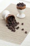 巧克力小大块  免版税库存图片
