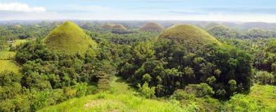 巧克力小山,菲律宾 图库摄影