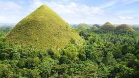 巧克力小山,菲律宾 免版税库存照片