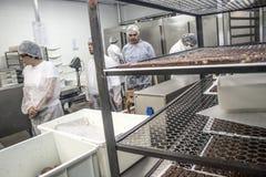 巧克力工厂 免版税库存图片
