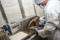 巧克力工厂 库存图片