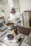 巧克力工厂 免版税图库摄影