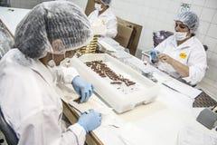巧克力工厂 库存照片