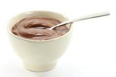 巧克力布丁03 库存照片