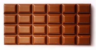 巧克力平板背景 免版税库存照片