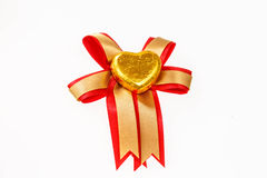 巧克力心脏糖果 库存图片
