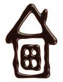 巧克力房子 免版税库存照片