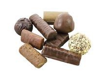 巧克力收集 免版税库存照片