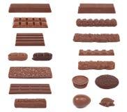 巧克力收集II 免版税库存图片
