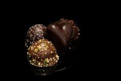 巧克力是我的喜爱 库存照片