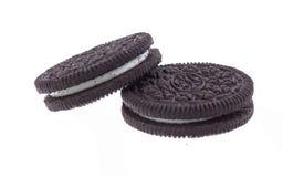 巧克力曲奇饼。 免版税库存图片