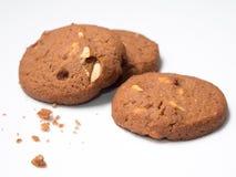 巧克力曲奇饼三 库存图片