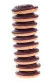 巧克力曲奇饼栈 库存图片