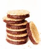 巧克力曲奇饼 库存照片