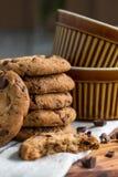 巧克力曲奇饼 免版税图库摄影