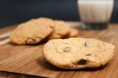 巧克力曲奇饼III 库存图片