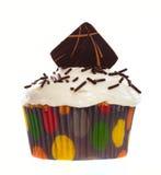巧克力杯形蛋糕薄酥饼 免版税库存图片