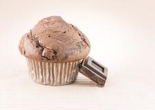 巧克力松饼 图库摄影