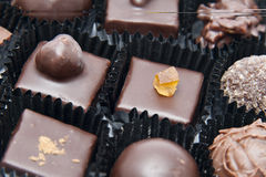 巧克力果仁糖 图库摄影