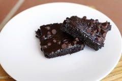 巧克力果仁巧克力 免版税库存照片