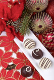 巧克力果仁糖 免版税库存图片