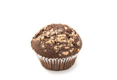 巧克力查出的松饼 库存照片