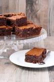 巧克力桔子果仁巧克力 库存照片