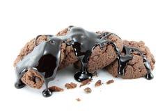 巧克力沙漠 免版税图库摄影
