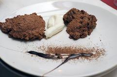 巧克力沫丝淋 免版税库存照片