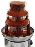 巧克力流程 免版税库存照片