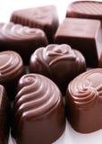 巧克力点心 免版税图库摄影