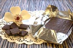巧克力点心 库存图片