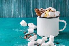巧克力热蛋白软糖 库存照片