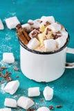 巧克力热蛋白软糖 免版税图库摄影