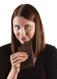 巧克力热衷 免版税库存照片