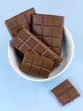 巧克力烹调 免版税库存图片