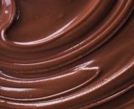 巧克力熔化了 免版税库存图片