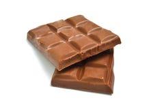巧克力片剂 库存照片